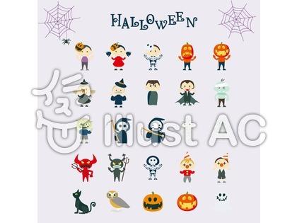 ハロウィンのイラスト