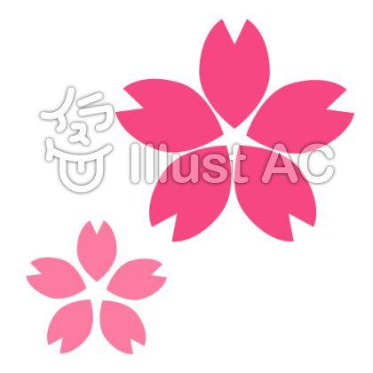 桜の花びら(シンプルver)
