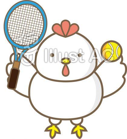 にわとりテニス