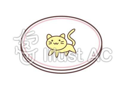 猫柄のお皿