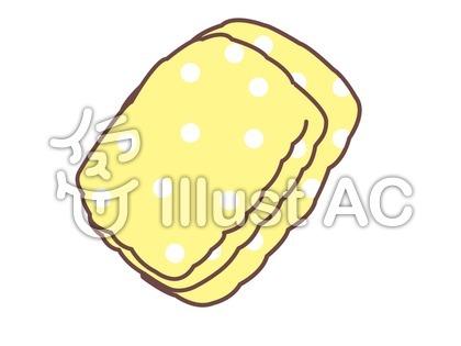 水玉のタオル