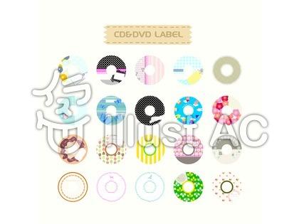 CD&DVDラベル