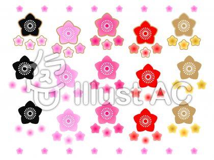 ももの花セット(白背景)