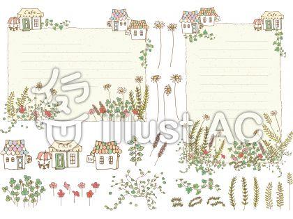 ハーブ&草花フレーム