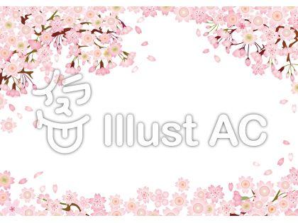 桜さくらサクラ春花入学式卒業式お花見背景