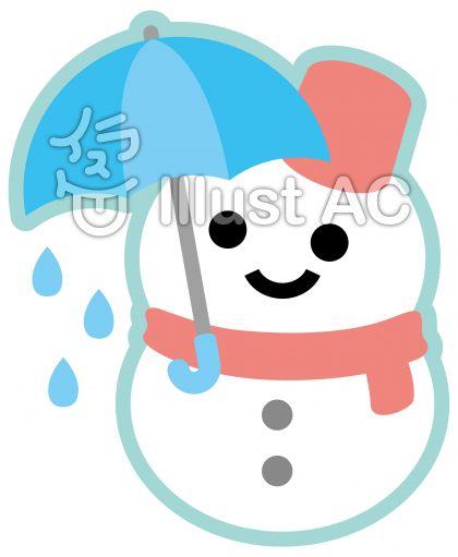 雪だるま〈傘〉
