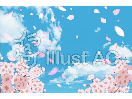 桜とぶ青空 CS5