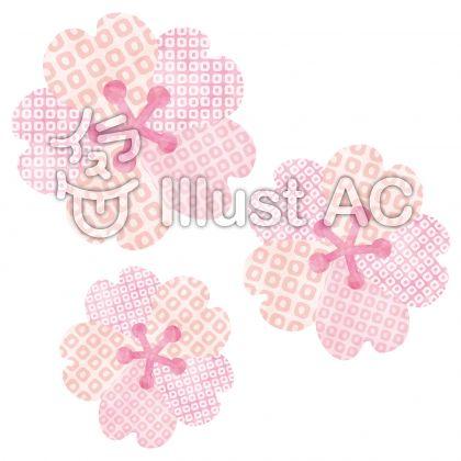 桜の花/和柄