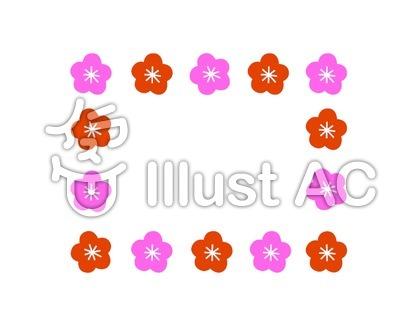 花のフレーム1