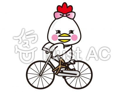 にわとり自転車