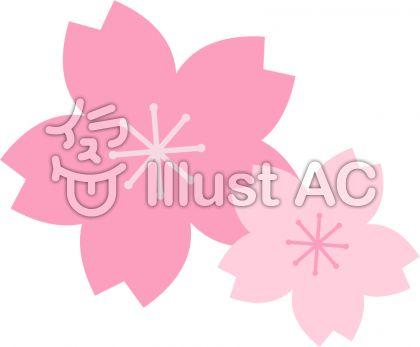 桜の花 パターン2
