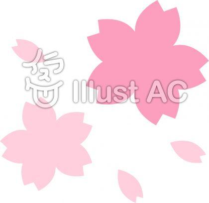 桜の花 パターン3