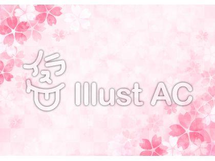 桜の背景7