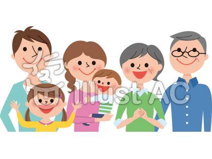 家族6人春A2