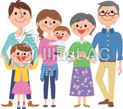 家族6人春A3
