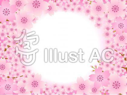 70316.桜のフレーム2