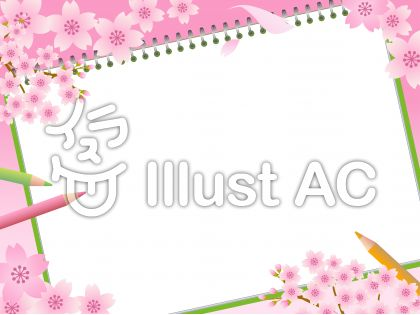 70316.桜とスケッチブック2