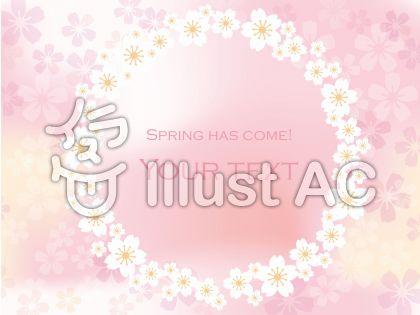 春のメッセージフレーム10