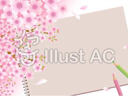 70317.桜とスケッチブック4