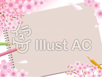 70317.桜とスケッチブック5