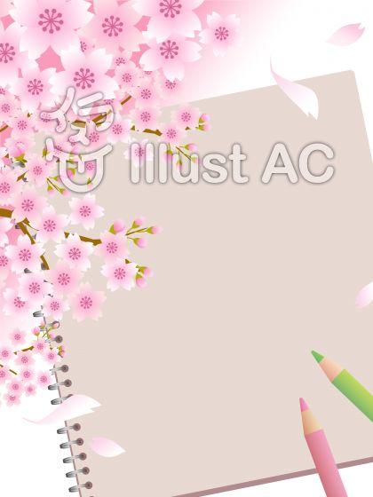 70317.桜とスケッチブック6