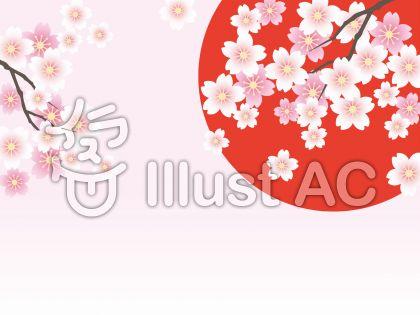 桜の背景 25
