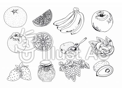 ペン 果物2