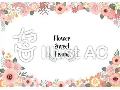 花飾りフレーム2