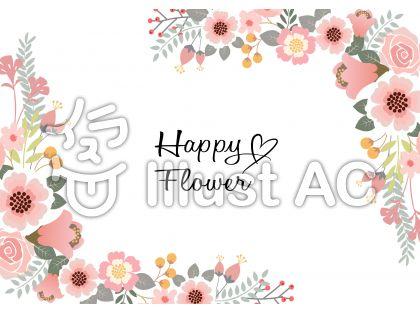 花飾りフレーム4