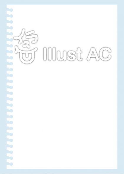 ノートの背景A4サイズ