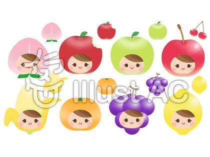 フルーツちゃん  (顔8種)1