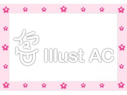 桜・パールのフレーム