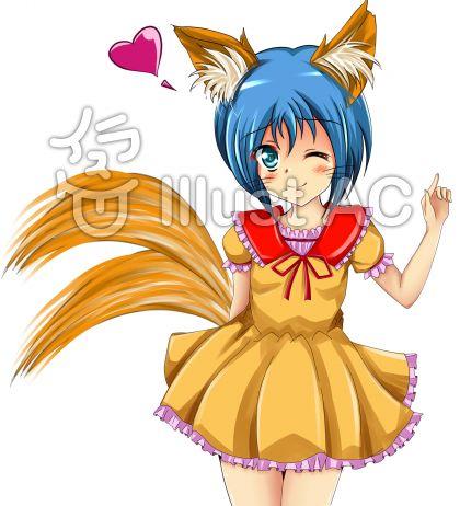 りる狐 5 ショートヘアーVer