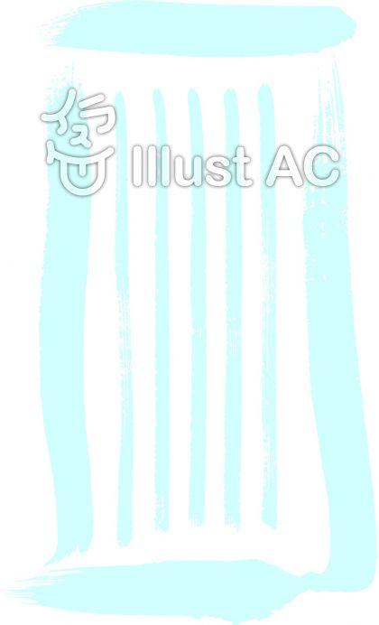一筆箋・囲み付の罫線|フリー無料筆字素材