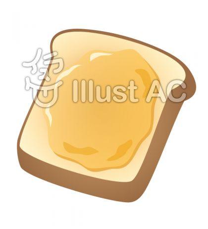 はちみつを塗ったトースト