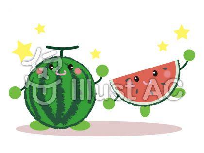 watermelon_顔つきスイカ7