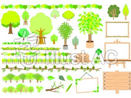 木々セット