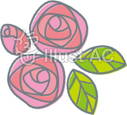 【春の植物_花】バラ