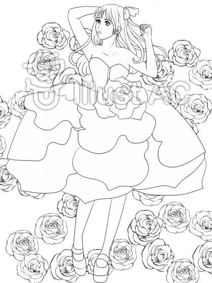 薔薇のドレス2