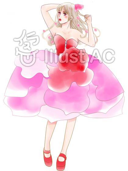 薔薇のドレス3