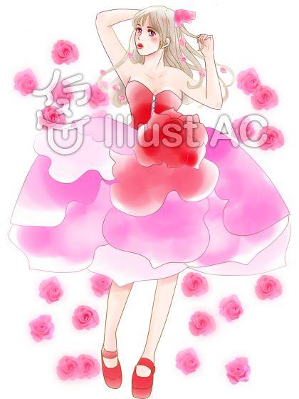薔薇のドレス4