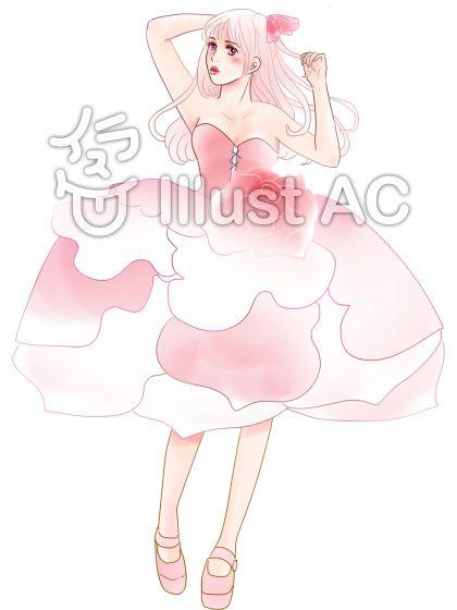 薔薇のドレス5