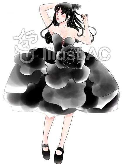 薔薇のドレス6