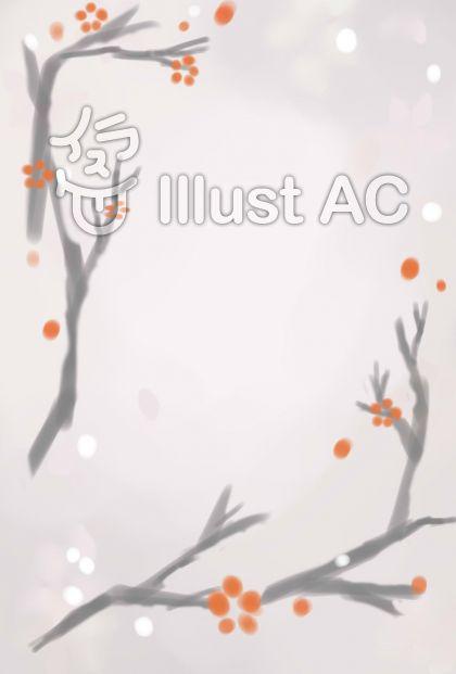 紅白梅図_ポストカード