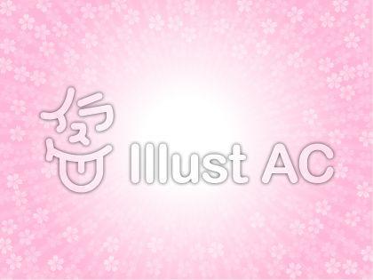 桜と光の背景(桜色)