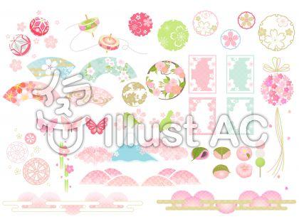桜いろいろ(和風)02