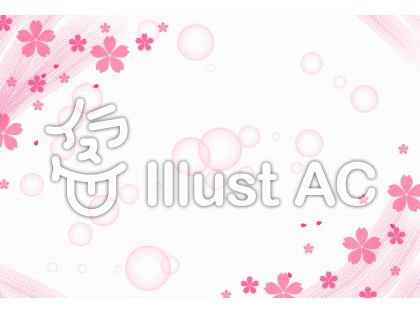 桜のふんわりフレーム