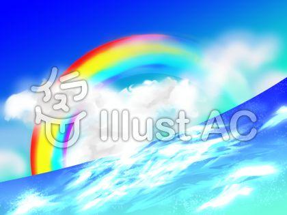 虹と海170328