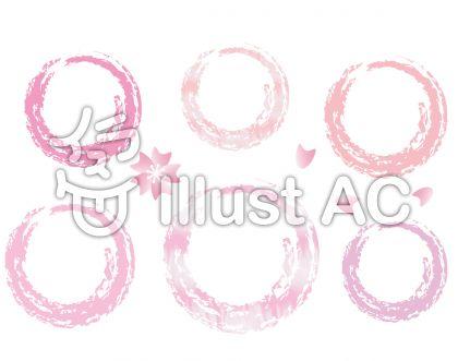 ピンク系のまるセット