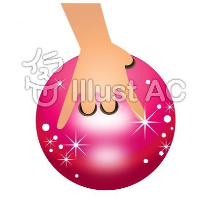 ボウリング ボール赤-129